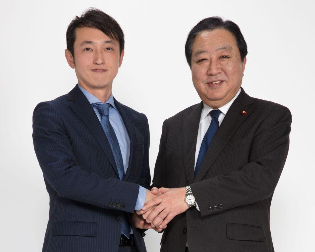 野田前総理画像