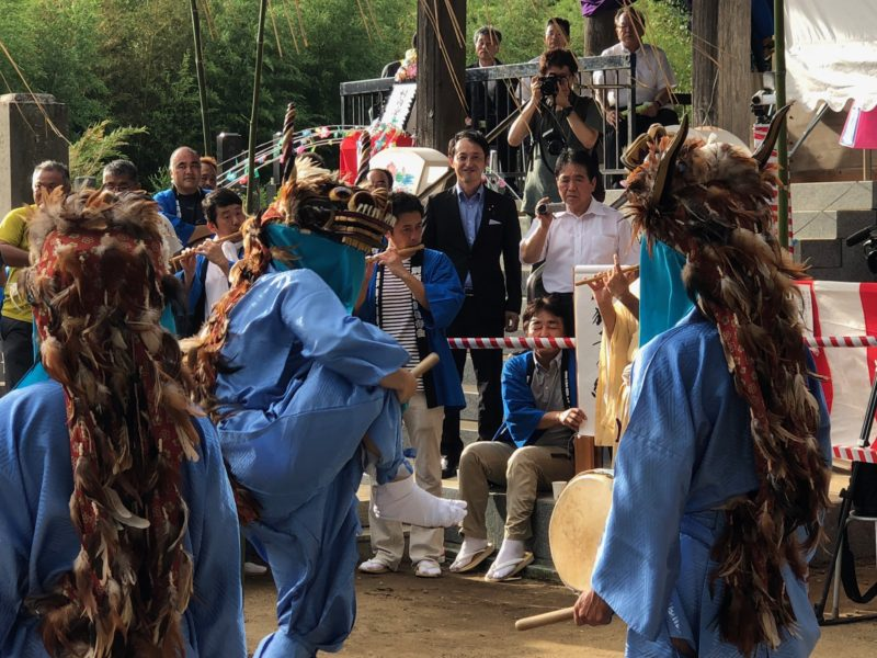180925別所の獅子舞