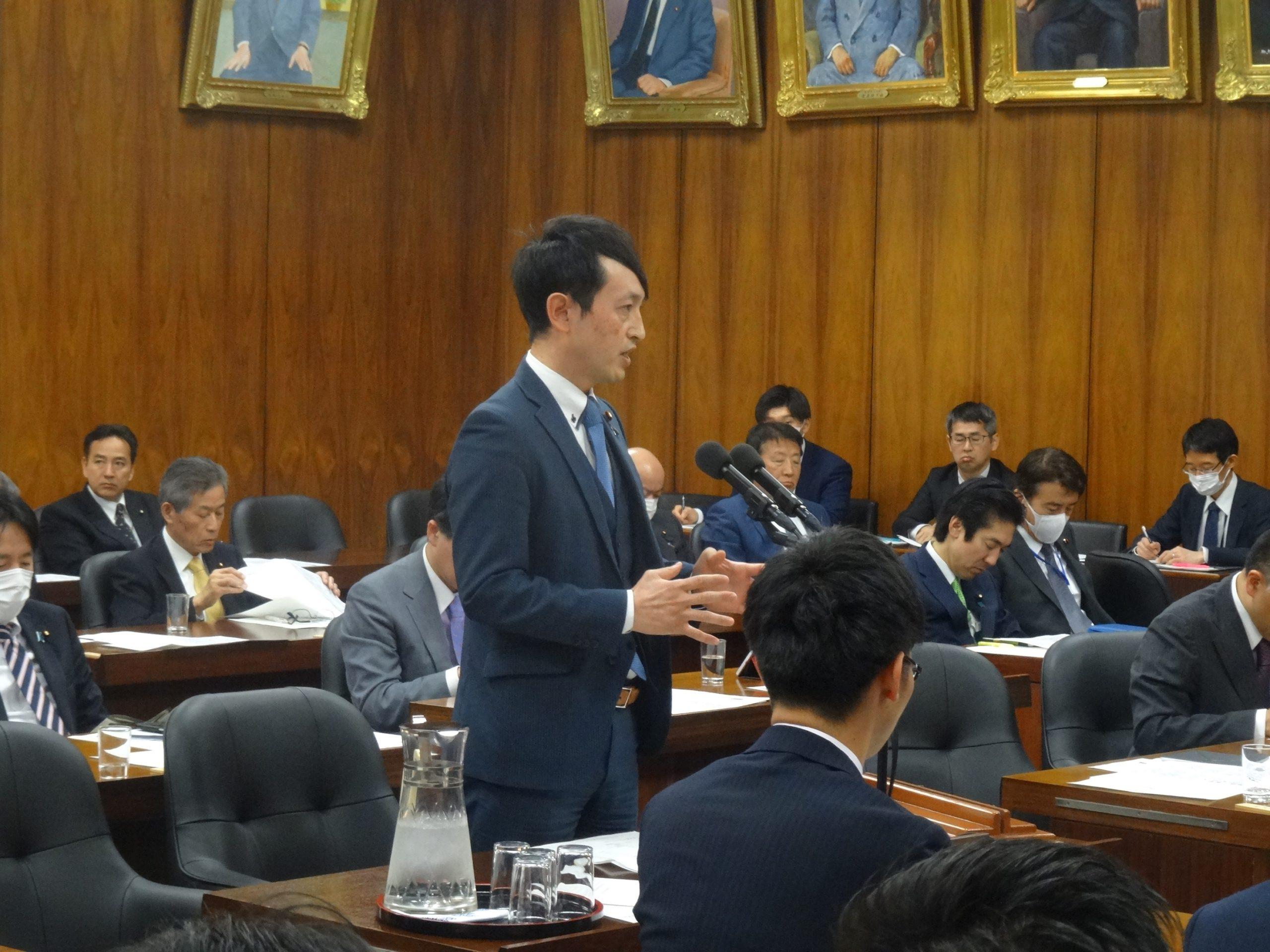3/26 原子力特別委員会で敦賀原発のデータ書き換え問題について質問 ...
