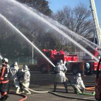 鎌ケ谷市消防出初式画像